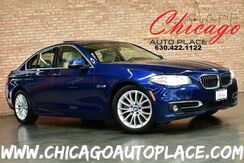 2016_BMW_5 Series_528i xDrive - 2.0L TWIN POWER TURBO I4 ENGINE ALL WHEEL DRIVE NAVIGATION BACKUP CAMERA KEYLESS GO HARMAN/KARDON AUDIO BEIGE LEATHER HEATED SEATS XENONS_ Bensenville IL