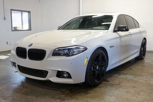 2016 BMW 5 Series 550i M-SPORT Executive Carbon Lux Pack Drivers Assist Farmer's Branch TX