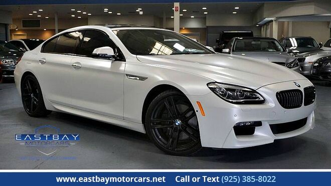 2016_BMW_6 Series_650i **Frozen White ** M Sport ** Driver assist. Plus ** Execut_ San Ramon CA