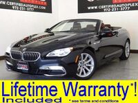 BMW 640i CONVERTIBLE NAVIGATION LEATHER HEATED SEATS PARK ASSIST REAR PARKING AID 2016