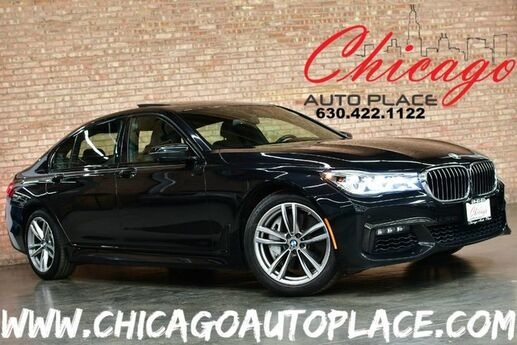 2016 BMW 7 Series 750i xDrive - ORIGINAL MSRP: $105,245 1 OWNER 4.4L TWIN TURBOCHARGED V8 ENGINE ALL WHEEL DRIVE M-SPORT PACKAGE EXECUTIVE PACKAGE NAVIGATION SURROUND VIEW 3D CAMERAS Bensenville IL