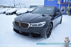 2016_BMW_7 Series_750i xDrive AWD / M Sport Pkg / Driver Plus Pkg / Heated Nappa Leather Seats / Heated Steering Wheel / Heads Up Display / Sunroof / Navigation / Bowers & Wilkins Speakers / Surround View Camera / 1-Owner_ Anchorage AK