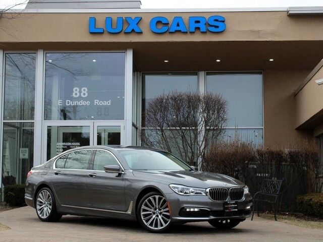 2016_BMW_750i_xDrive Executive Rear DVD Night Vision MSRP $125,445_ Buffalo Grove IL