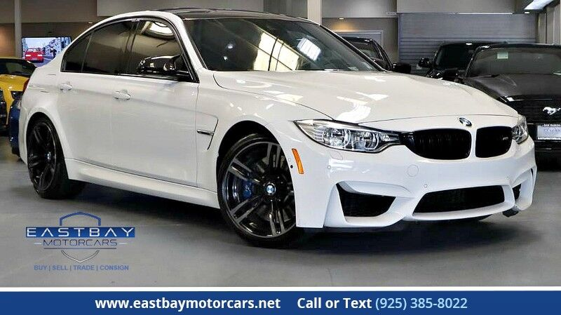 2016 BMW M3 6 speed manual Driver assist plus * Executive * Lighting Pkgs San Ramon CA