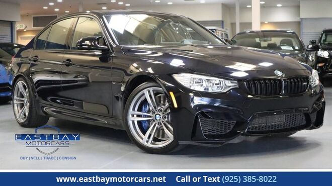 2016_BMW_M3_Driver assist. Plus pkg * Lighting pkg * Full leather_ San Ramon CA