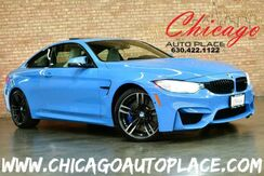 2016_BMW_M4_Coupe - 6-SPEED MANUAL ORIGINAL MSRP: $91292 3.0L INLINE 6-CYL M TWINPOWER TURBO ENGINE SILVERSTONE GRAY LEATHER CARBON FIBER TRIM NAVIGATION TOP VIEW CAMERAS SUNROOF KEYLESS GO HEATED SEATS_ Bensenville IL