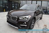 2016 BMW X1 xDrive28i / AWD / Power & Heated Leather Seats / Heated Steering Wheel / HUD / Navigation / Panoramic Sunroof / Keyless Entry & Start / Front & Rear Parking Sensors / Bluetooth / Cruise Control / 1-Owner
