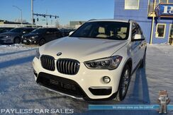 2016_BMW_X1_xDrive28i AWD / Power & Heated Leather Seats / Heated Steering Wheel / Navigation / Panoramic Sunroof / Bluetooth / Keyless Entry & Start / HID Headlights / Front & Rear Park Assist Sensors / Power Liftgate / 1-Owner_ Anchorage AK