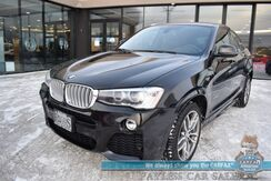 2016_BMW_X4_xDrive35i / AWD / M-Sport Pkg / Cold Weather Pkg / Driver Assist Pkg / Premium Pkg / Heated Leather Seats & Steering Wheel / Harman Kardon Speakers / Panoramic Sunroof / Keyless Entry & Start / Only 11k Miles / 1-Owner_ Anchorage AK