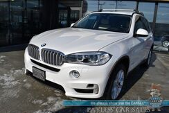 2016_BMW_X5 eDrive_xDrive40e / AWD / Heated Leather Seats / Heated Steering Wheel / Sunroof / Harman Kardon Speakers / Navigation / HUD / Adaptive Cruise / Lane Departure & Blind Spot Alert / Bluetooth / Back Up Camera / 1-Owner_ Anchorage AK