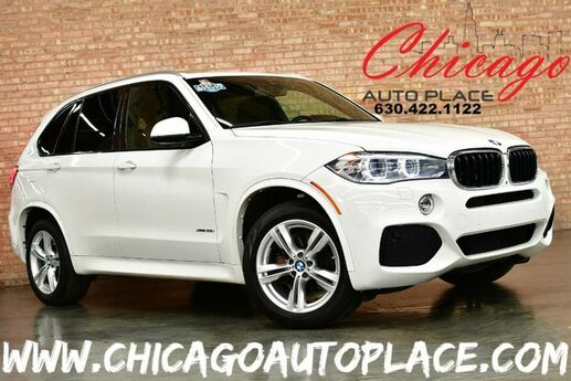 2016 BMW X5 xDrive35i - M-SPORT PACKAGE 1 OWNER 3.0L I-6 TWIN-POWER TURBO ENGINE ALL WHEEL DRIVE 1 OWNER NAVIGATION TOP VIEW CAMERAS KEYLESS GO HEADS-UP DISPLAY PANO ROOF 3RD ROW SEATS Bensenville IL