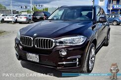 2016_BMW_X5_xDrive35i / AWD / Sport Pkg / Heated Front & Rear Leather Seats / Heated Steering / Navigation / Panoramic Sunroof / Harman Kardon Speakers / Heads Up Display / Bluetooth / Back Up Camera / 1-Owner_ Anchorage AK