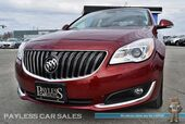 2016 Buick Regal Premium I AWD / Automatic / Power & Heated Leather Seats / Heated Steering Wheel / Auto Start / Bluetooth / Back-Up Camera / Cruise Control / 27 MPG