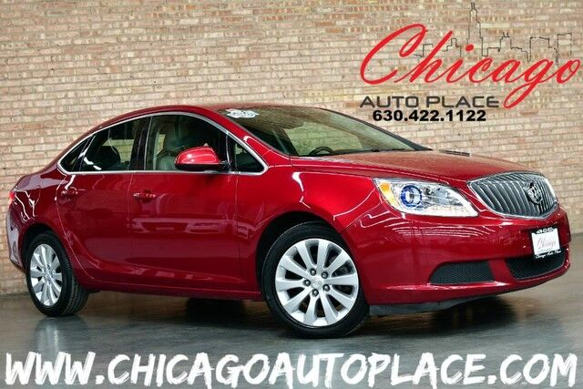 2016 Buick Verano ECOTEC 2.4L 4-CYL ENGINE 1 OWNER FRONT WHEEL DRIVE BACKUP CAMERA BLUETOOTH PREMIUM WHEELS Bensenville IL