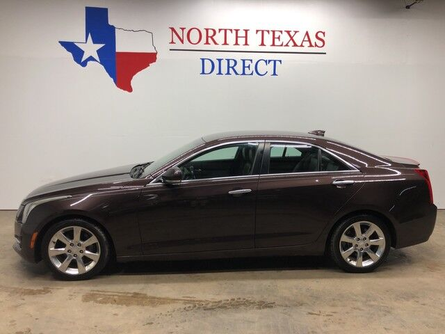2016 Cadillac ATS Sedan Luxury Collection Gps Navigation Park Assist Bose Leather Mansfield TX
