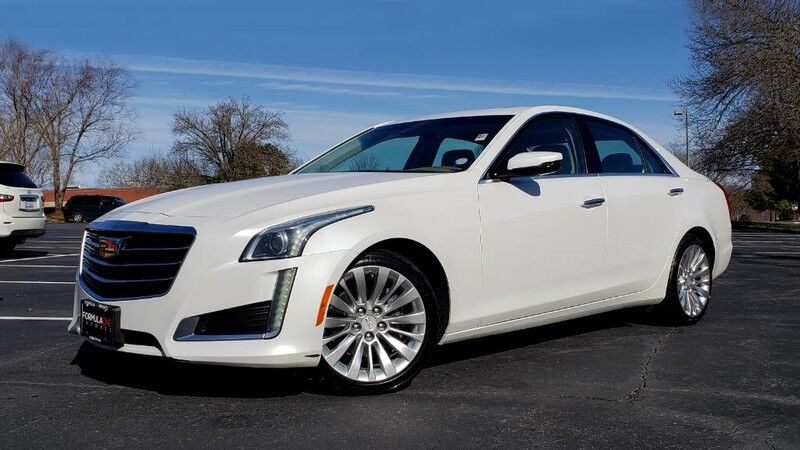 2016 Cadillac Cts Sedan Luxury Awd Nav Bose Sunroof Camera Charlotte