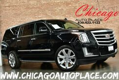 2016_Cadillac_Escalade ESV_Luxury Collection - 6.2L V8 ENGINE 4WD BLACK LEATHER NAVIGATION BACKUP CAMERA TOP VIEW CAMERAS KEYLESS GO HEADS-UP DISPLAY BOSE AUDIO 3RD ROW SEATING ACTIVE BLINDSPOT_ Bensenville IL