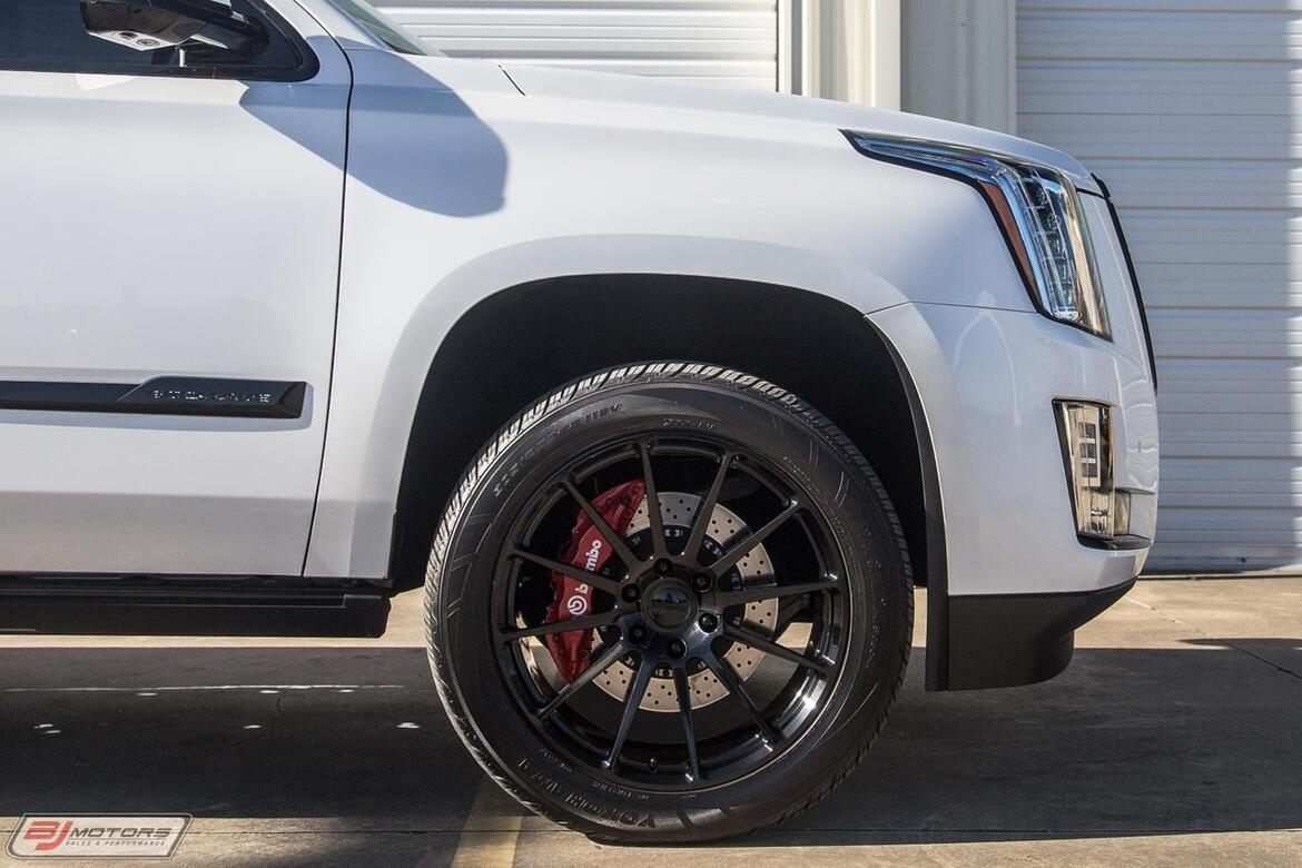 2016 Cadillac Escalade ESV Platinum Hennessey Performance HPE650 Package Tomball TX