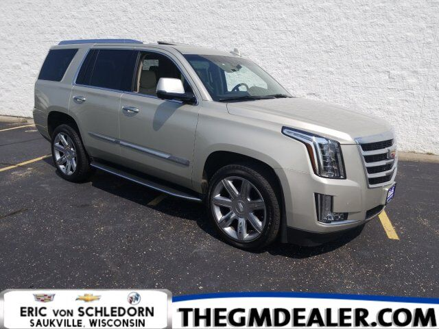2016 Cadillac Escalade Luxury Collection 4WD w/Sunroof Nav HtdCldMemLthr CUE 22s RearCamera Milwaukee WI