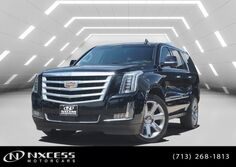 Cadillac Escalade Premium Collection New Tires Factory Warranty. 2016