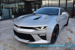 2016_Chevrolet_Camaro_2SS / Automatic / 6.2L V8 / Auto Start / Heated & Cooled Leather Seats / Heated Steering Wheel / Sunroof / Bose Speakers / HUD / Blind Spot Alert / BREMBO Brakes / Bluetooth / 1-Owner_ Anchorage AK