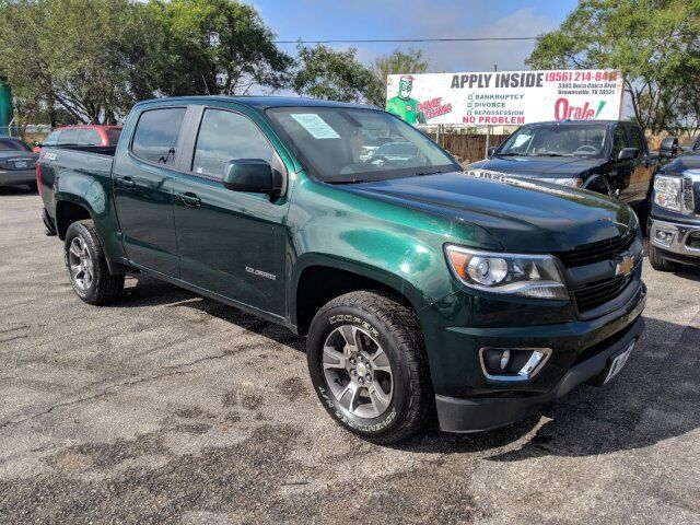 2016 Chevrolet Colorado 4wd Z71 Brownsville Tx