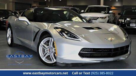 2016 Chevrolet Corvette 1LT 7 speed manual San Ramon CA