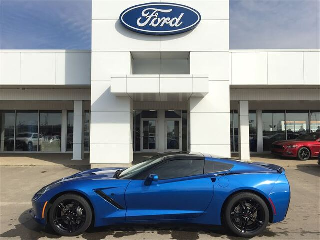 2016_Chevrolet_Corvette_Stingray Coupe - 7-SPEED *17000KM*_ Edmonton AB