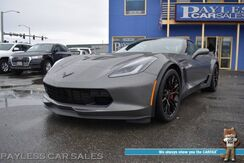 2016_Chevrolet_Corvette_Z06 1LZ / 7-Spd Manual / Supercharged 6.2L V8 / 650HP / 650TQ / Power Leather Seats / Removable Glass Roof / Heads Up Display / Bose Speakers / Bluetooth / Back Up Camera / Only 7K Miles_ Anchorage AK