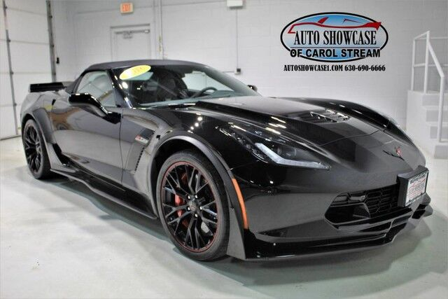 2016 Chevrolet Corvette Z06 3LZ Z07 Performance Pkg Convertible Carol Stream IL