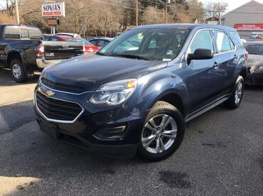 2016_Chevrolet_Equinox_LS_ Worcester MA