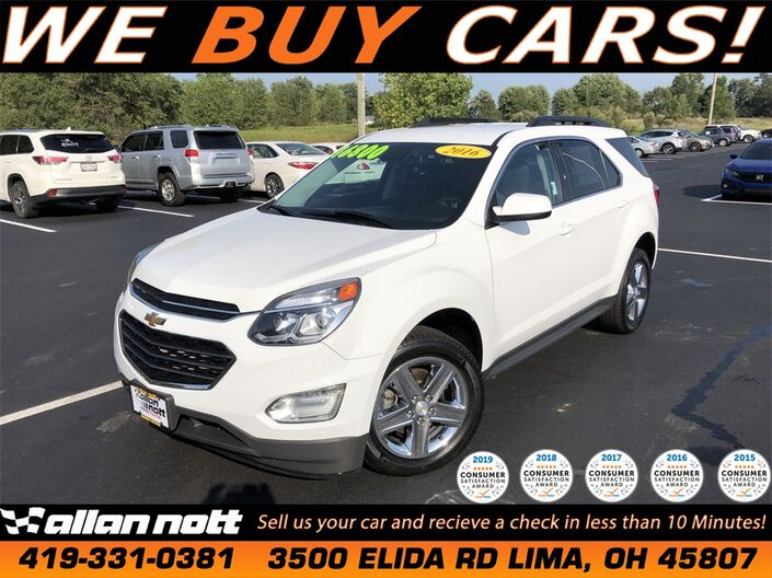 Used Chevrolet Equinox Lima Oh