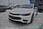 2016 Chevrolet Malibu LT / Auto Start / Power & Heated Leather Seats / Panoramic Sunroof / Navigation / Bose Speakers / Bluetooth / Back Up Camera / Keyless Entry & Start / 37 MPG