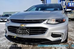 2016_Chevrolet_Malibu_LT / Automatic / Power & Heated Leather Seats / Auto Start / Bose Speakers / Bluetooth / Back-Up Camera / Block Heater / 37 MPG_ Anchorage AK