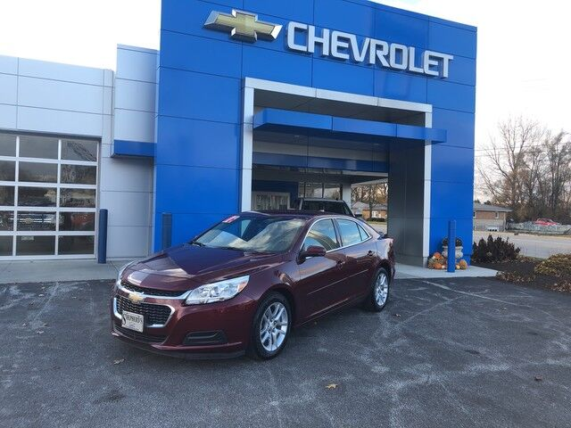 2016 Chevrolet Malibu Limited Lt Rochester In