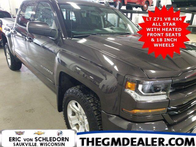 2016 Chevrolet Silverado 1500 LT Z71 Crew Cab 4WD All-StarEdition w/HtdCloth 18s MyLink RearCamera Milwaukee WI