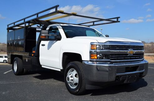 2016_Chevrolet_Silverado 3500HD DRW_Standard Cab Utility Body Work Truck 2WD_ Fort Worth TX
