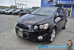 2016_Chevrolet_Sonic_LT / Automatic / Turbocharged / Auto Start / Heated Seats / Sunroof / Bluetooth / Back Up Camera / Cruise Control / Aluminum Wheels / 37 MPG_ Anchorage AK