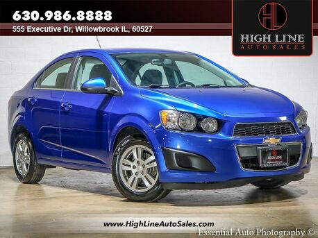 2016_Chevrolet_Sonic_LT_ Willowbrook IL