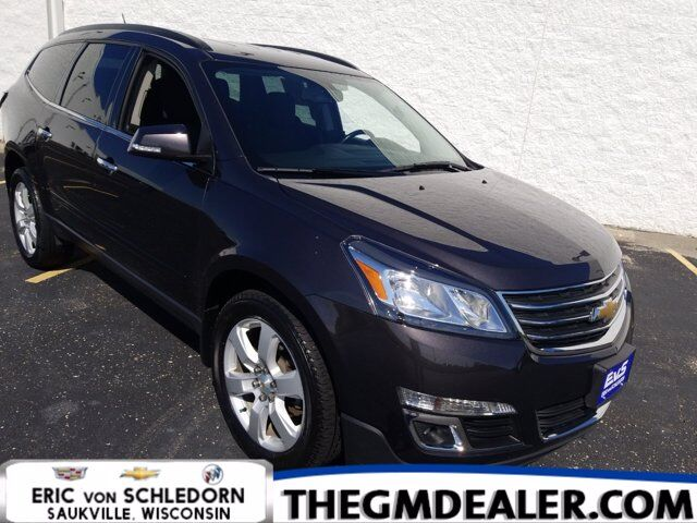 2016 Chevrolet Traverse 1LT AWD 7-Passenger Style&Technology TraileringPkgs w/20s HtdCloth MyLink RearCamera Milwaukee WI