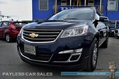 2016 Chevrolet Traverse 2LT / AWD / Automatic / Power & Heated Seats / Auto Start / Bose Speakers / Bluetooth / Back-Up Camera / Rear Captain Chairs / 3rd Row / Seats 7 / WeatherTech Mats