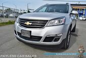 2016 Chevrolet Traverse LT / Heated Seats / Auto Start / Bose Speakers / Rear Captain Chairs / 3rd Row / Seats 7 / Bluetooth / Back Up Camera / Cruise Control / 22 MPG