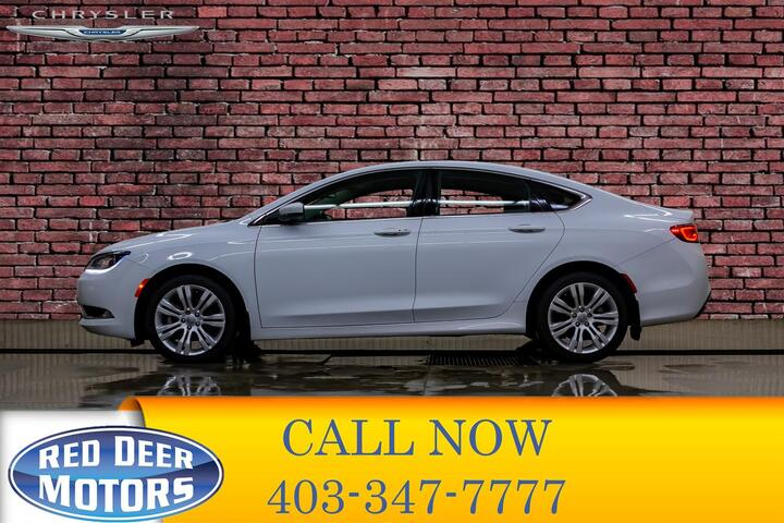 2016 Chrysler 200 Limited BCam Heated Seats Red Deer AB