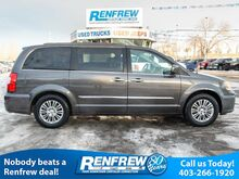 2016_Chrysler_Town & Country_Touring, Rear DVD, Nav, Remote Start, Heated Leather, Bluetooth,_ Calgary AB