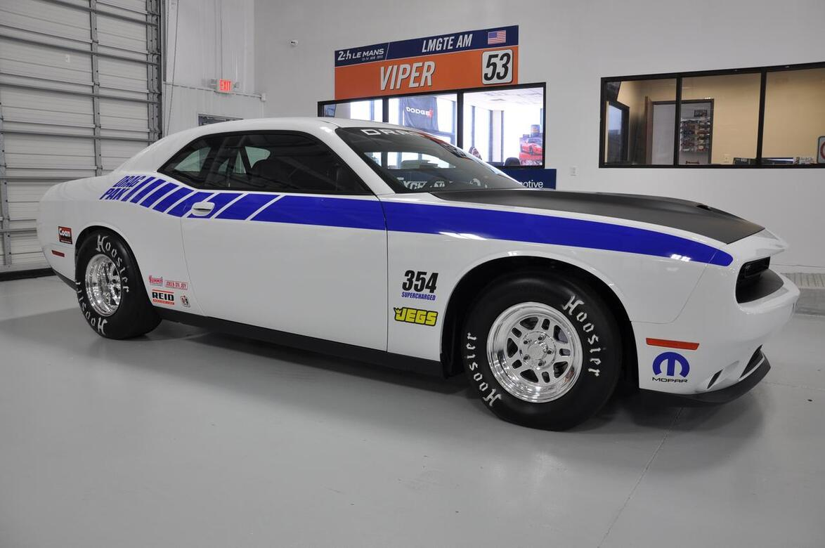2016 DODGE DRAG PACK CHALLENGER SUPERCHARGED CHALLENGER RACE TX 13416783