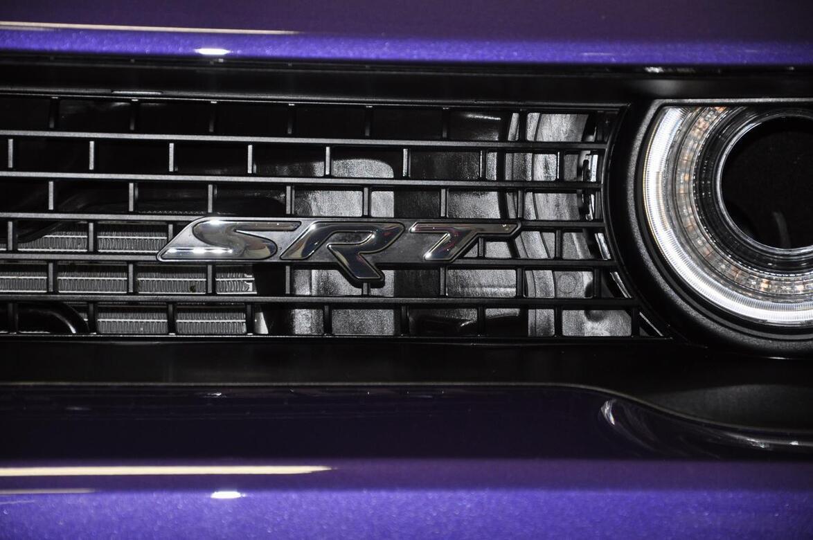 2016 Dodge Challenger SRT Hellcat Plum Crazy Tomball TX