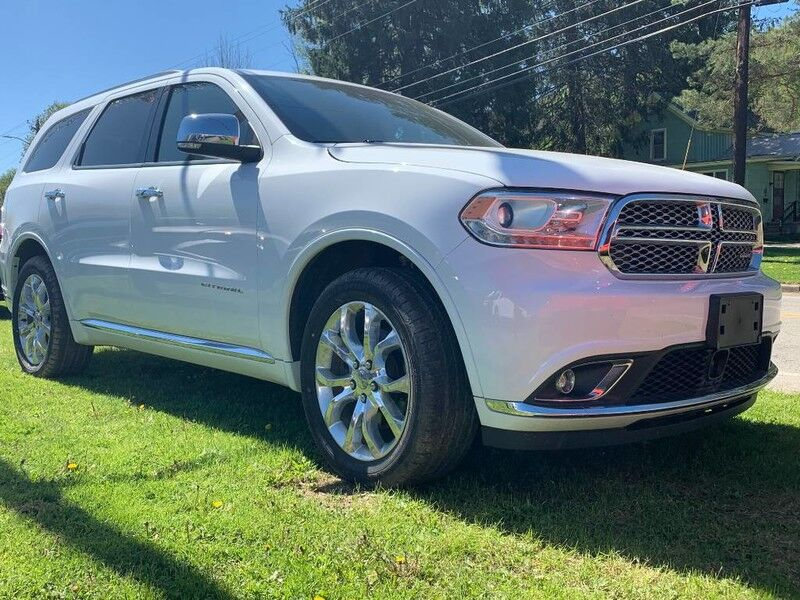 2016 Dodge Durango Citadel Anodized Platinum Little Valley NY