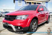 2016 Dodge Journey Crossroad / AWD / Power & Heated Leather Seats / Heated Steering Wheel / 8.4 Touchscreen Display / Uconnect Bluetooth / Back-Up Camera / 3rd Row / Seats 7 / Block Heater / 1-Owner