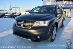 2016_Dodge_Journey_R/T / AWD / Power & Heated Leather Seats / Heated Steering Wheel / Navigation / Alpine Speakers / Auto Start / Rear Entertainment / Bluetooth / Back Up Camera / Keyless Entry & Start / 3rd Row / Seats 7 / 1-Owner_ Anchorage AK