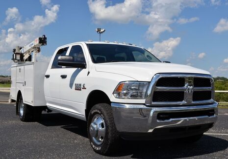 2016_Dodge_Ram 3500_Tradesman Crew Cab Crane Truck 4x4_ Fort Worth TX